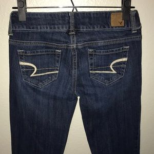American Eagle Stretch Flare Jeans Juniors 00 33